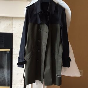 Color block Coach Trench coat new with tags